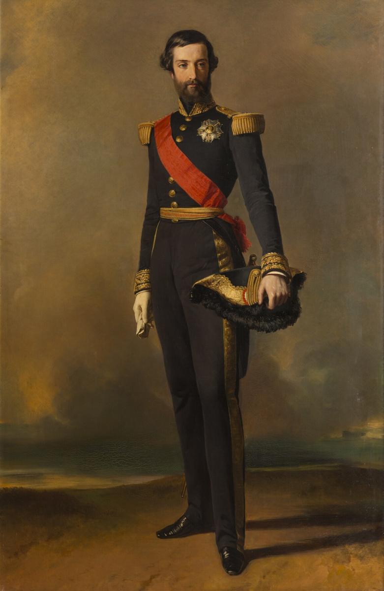 Франц Ксавер Винтерхальтер. Франсуа-Фердинанд-Филипп Орлеанский, принц Жуанвиля