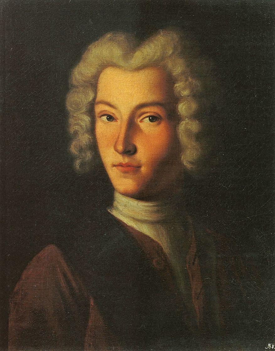 Григорий Дмитриевич Молчанов. Портрет Петра II