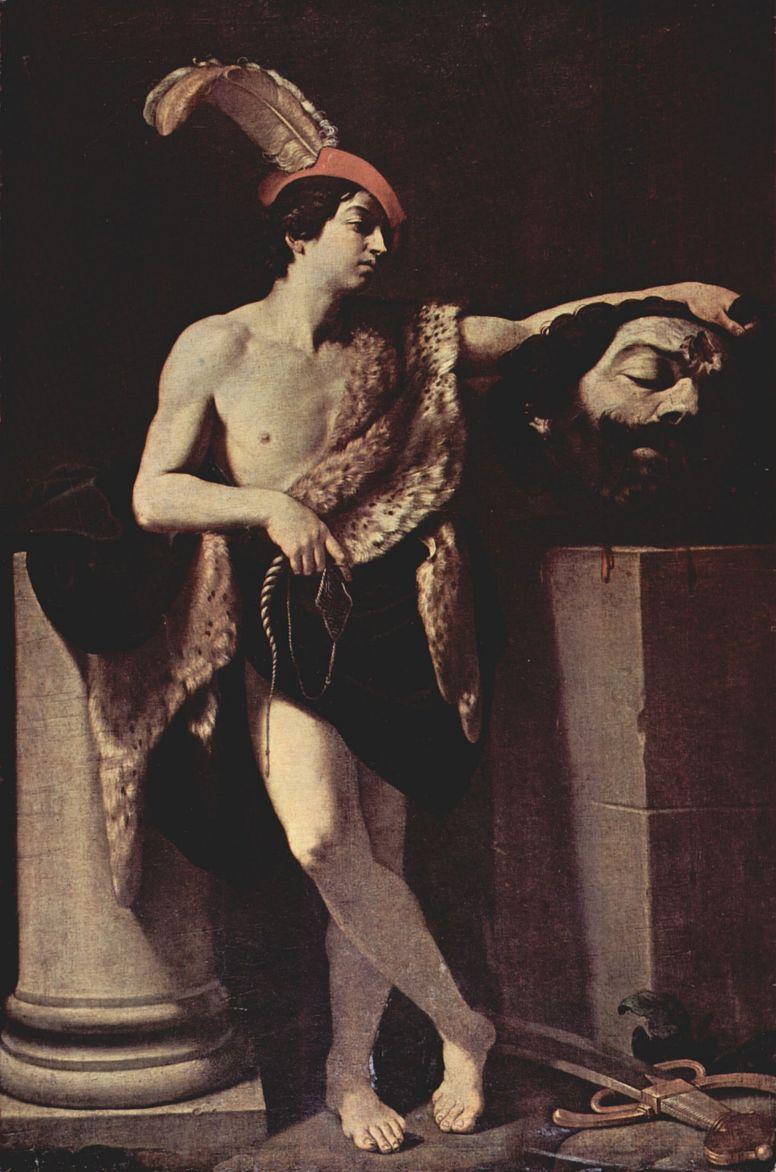 Гвидо Рени. Давид с головой Голиафа