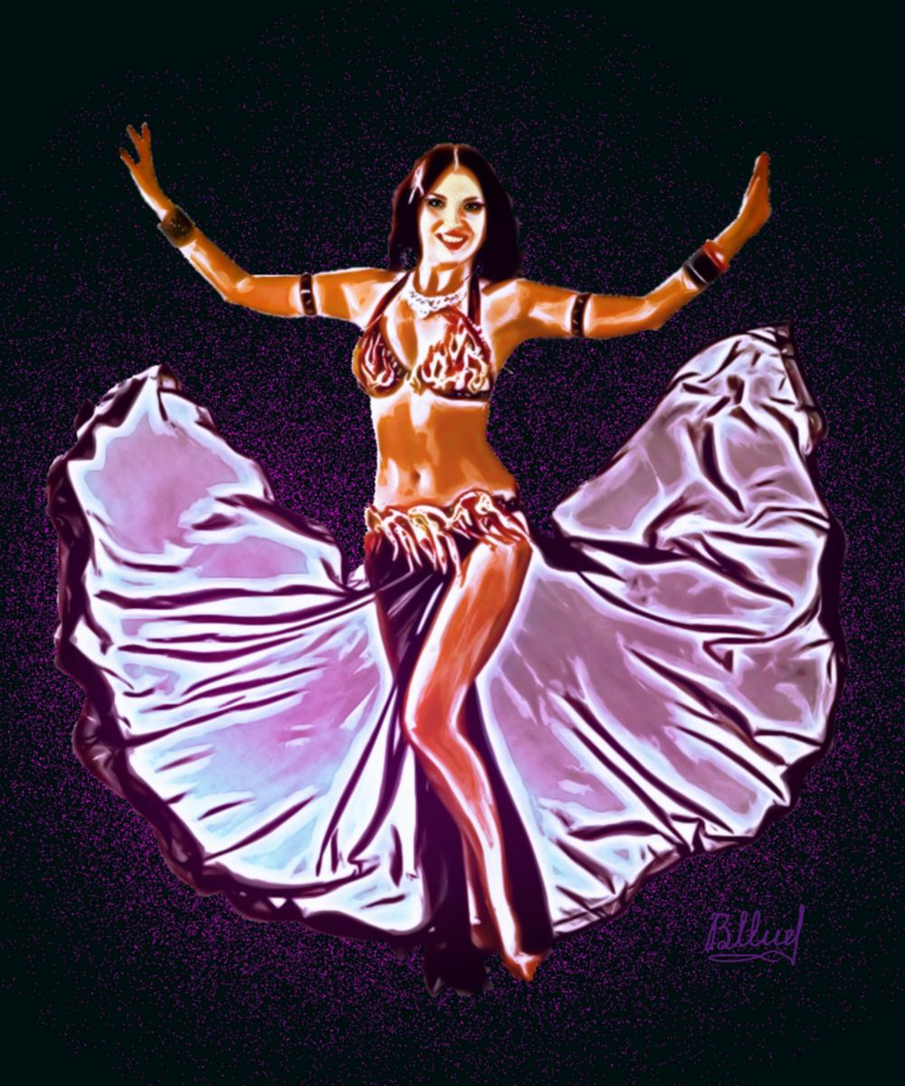 Vasiliy Mishchenko. Oriental dance 1K