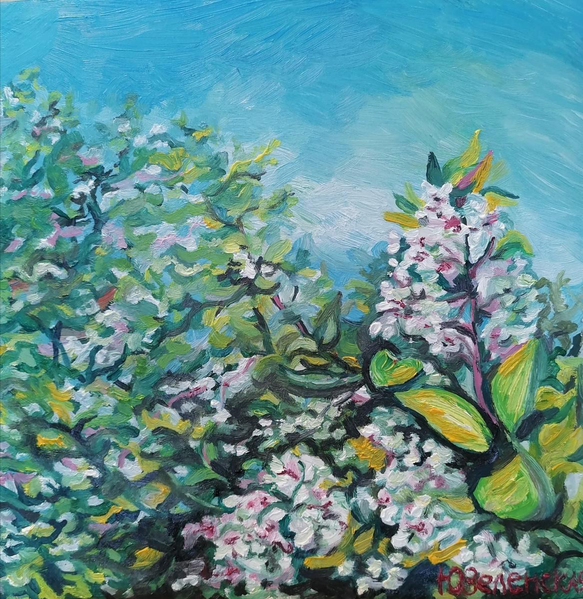 Julia Sergeevna Zelenskaya. Smelled of spring