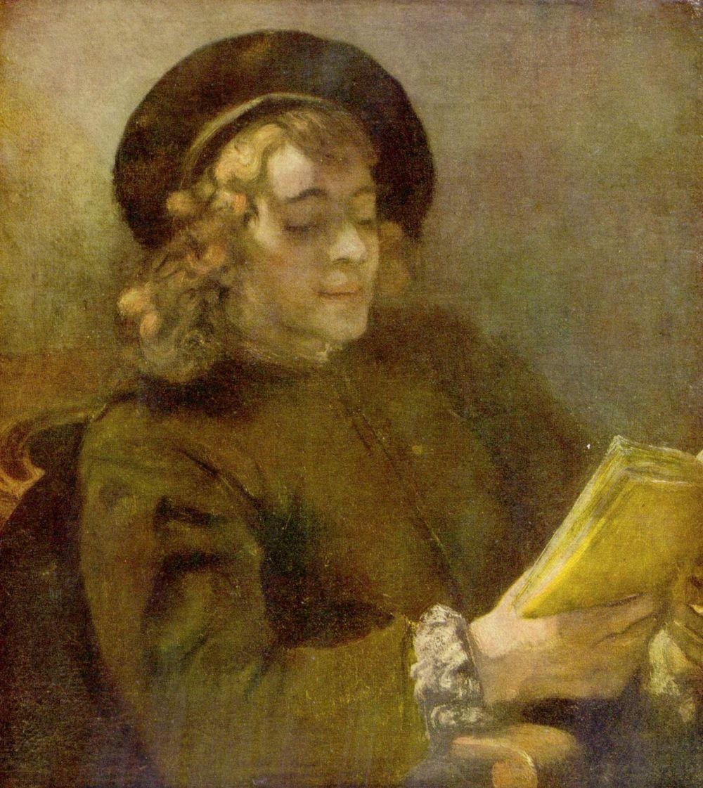 Рембрандт Харменс ван Рейн. Читающий Титус