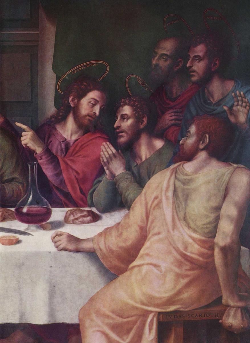 Хуан де Хуанес. Тайная вечеря
