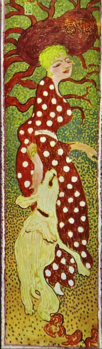 Пьер Боннар. Платье в горошек