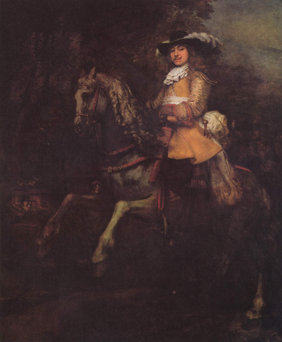 Рембрандт Харменс ван Рейн. Конный портрет Фредерика Рила
