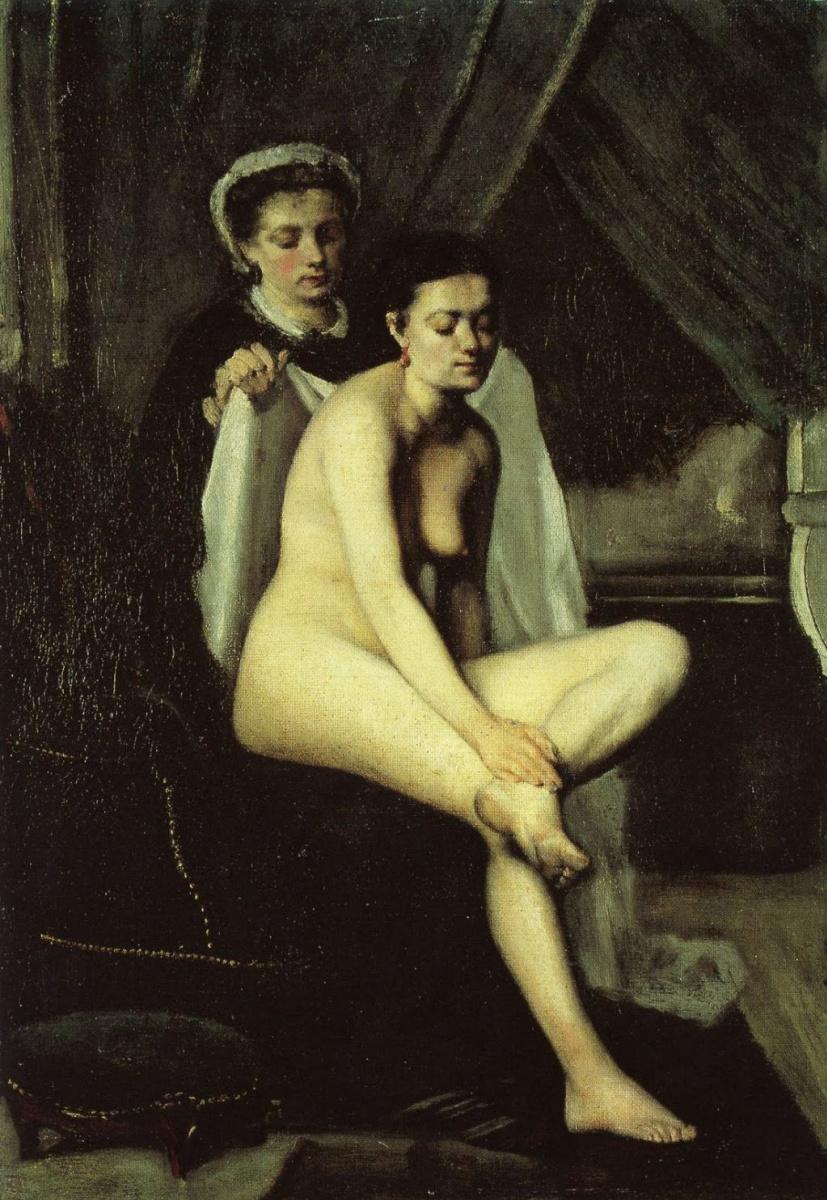 Фредерик Базиль. После ванны