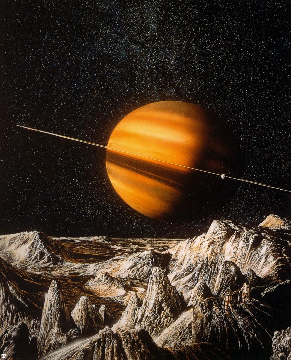 Bob Eggleton. Saturn