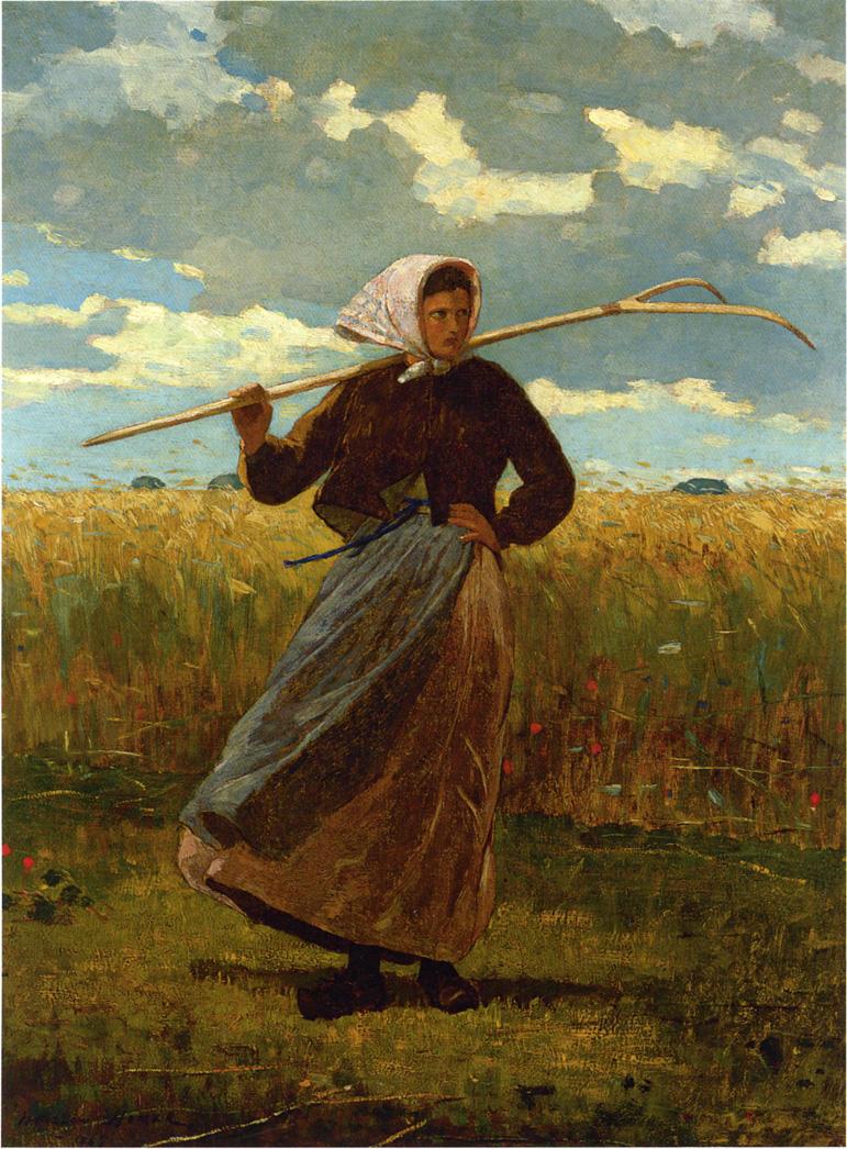 Winslow Homer. The return of Genera