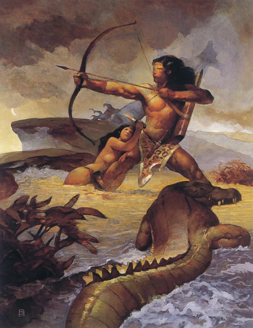 Джеффри Джонс. Тарзан в Стране предков
