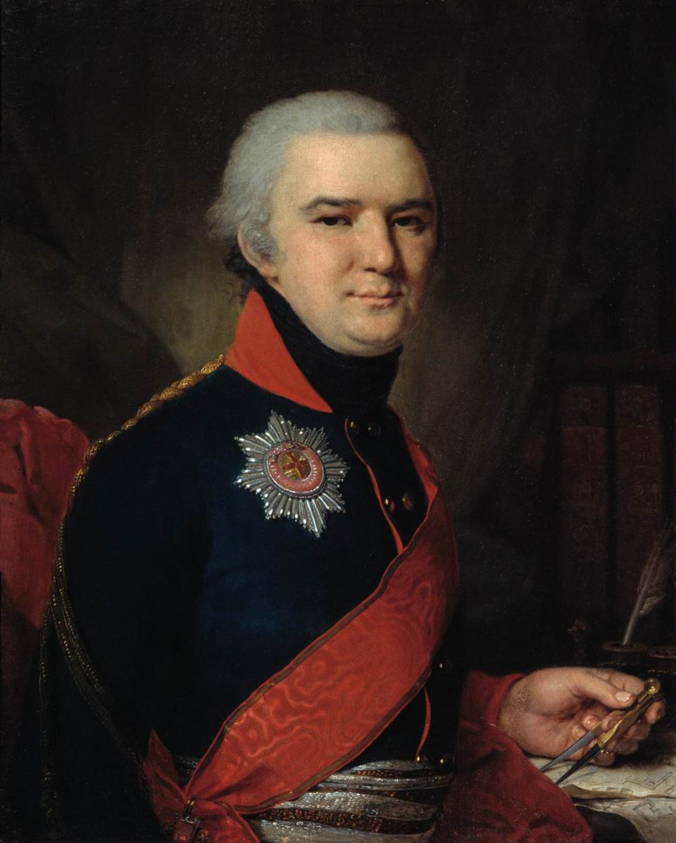 Владимир Лукич Боровиковский. Портрет Долгорукого.