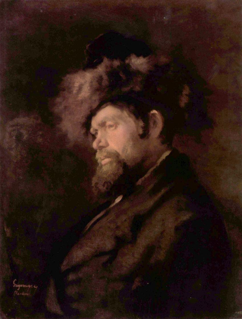 Николае Григореску. Еврей в кафтане