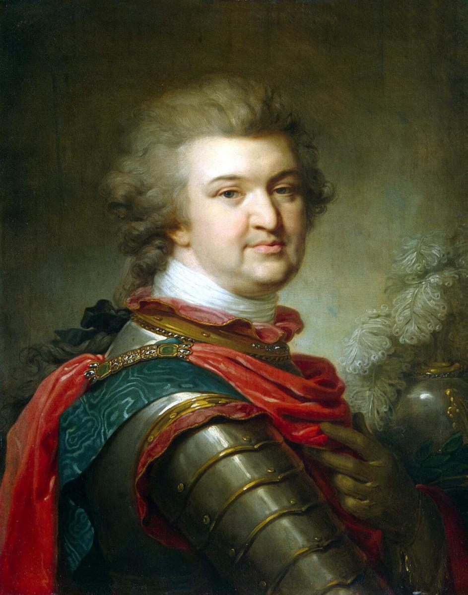 Иоганн Баптист Лампи (старший). Портрет князя Григория Потемкина-Таврического