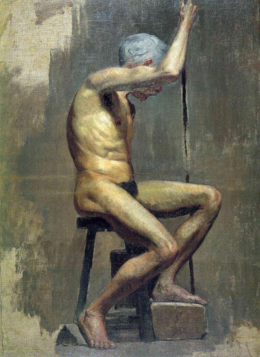 Пабло Пикассо. Академический этюд
