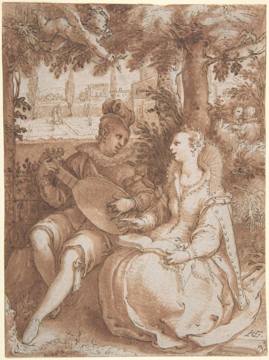 Хендрик Гольциус. Весна. 1594