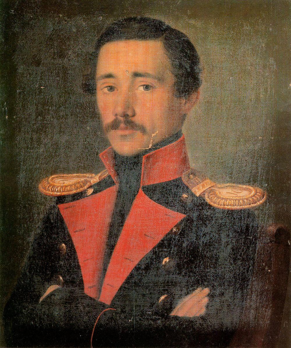 Александр Васильевич Поляков. Портрет Е. П. Корнилова