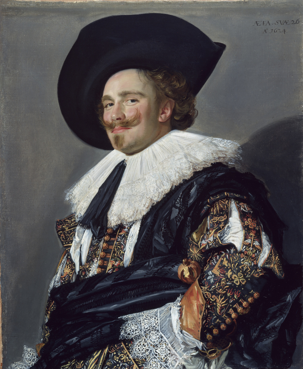 Frans Hals. The laughing cavalier