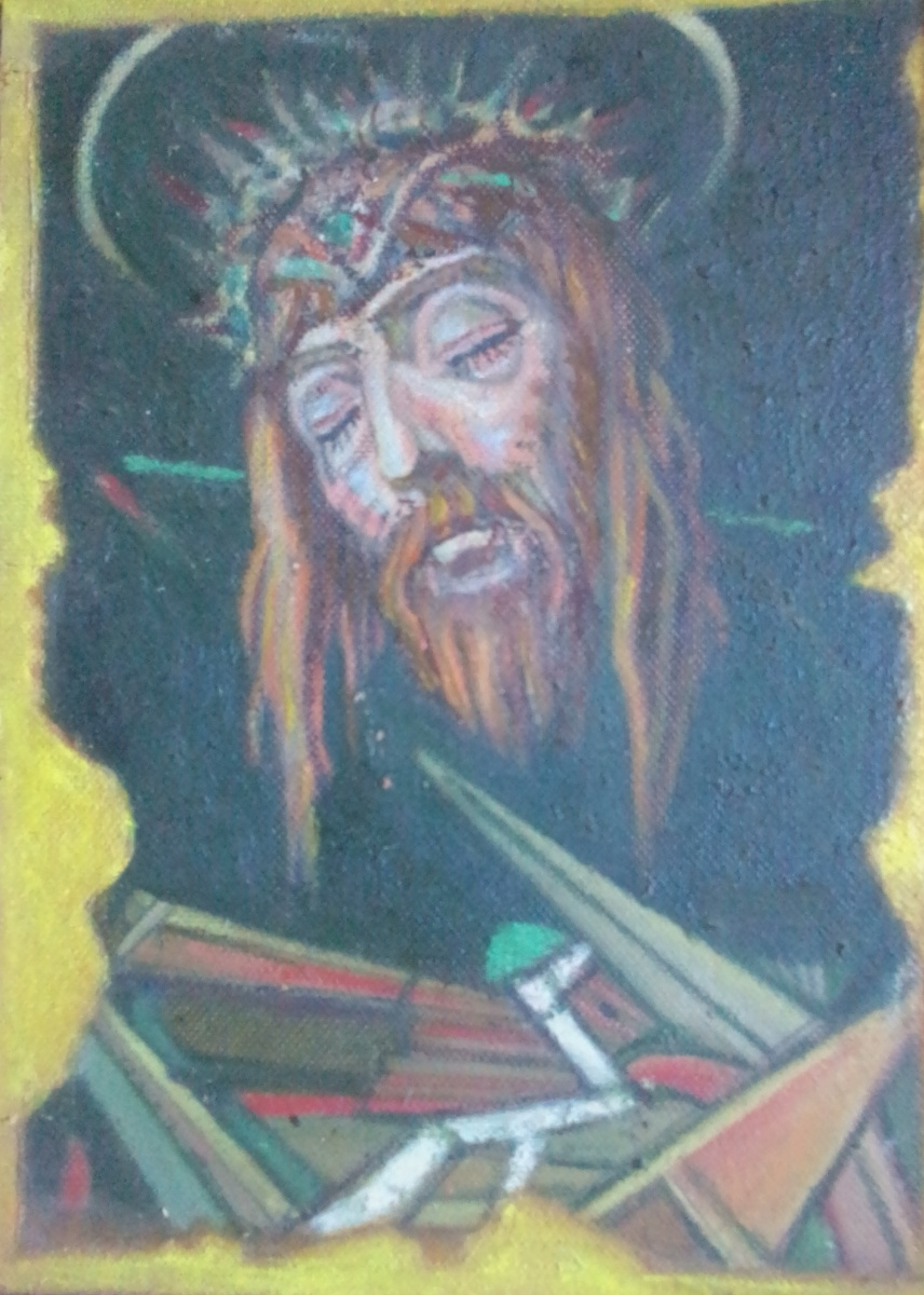 Вячеслав Коренев. Голова Христа