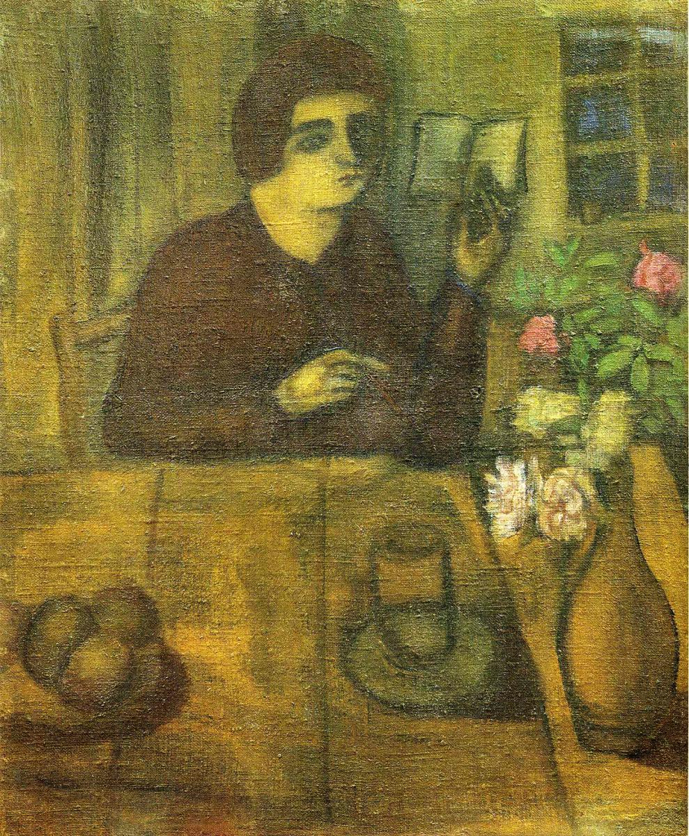 Марк Захарович Шагал. Портрет сестры художника