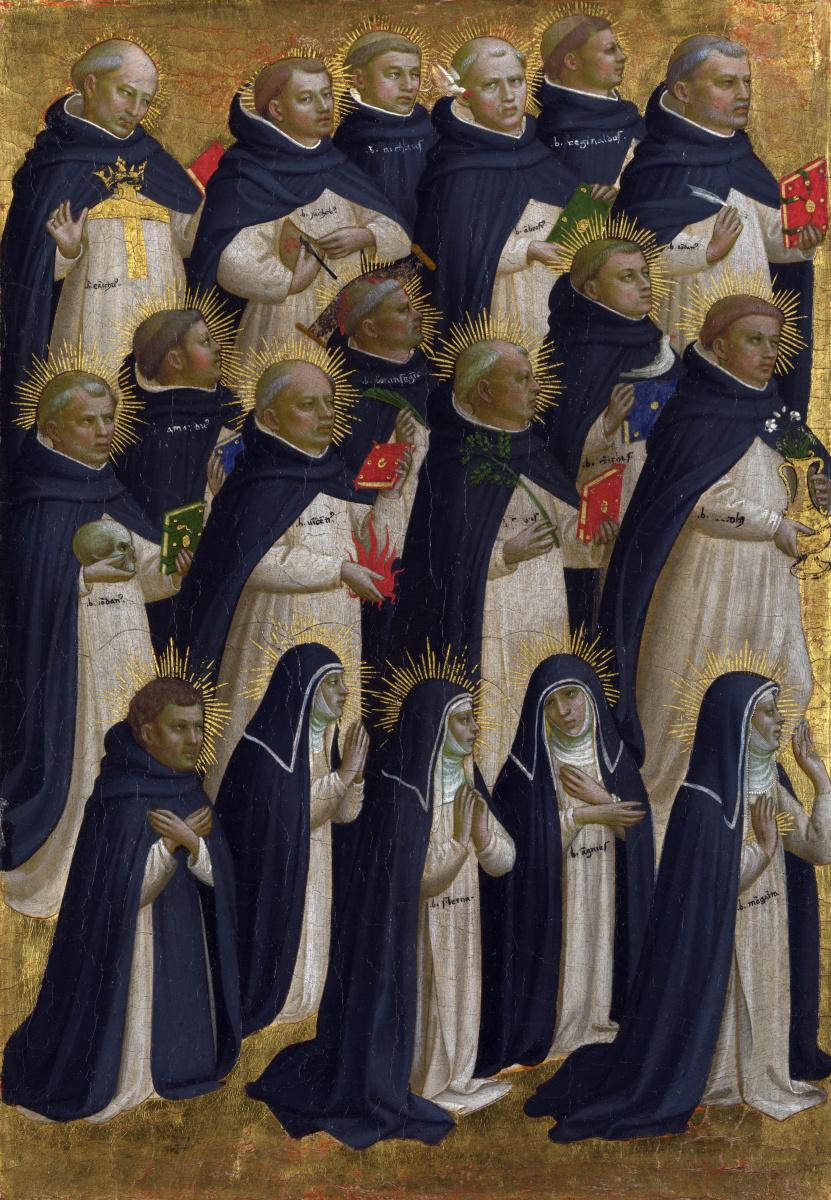 Фра Беато Анджелико. Монахи доминиканского ордена