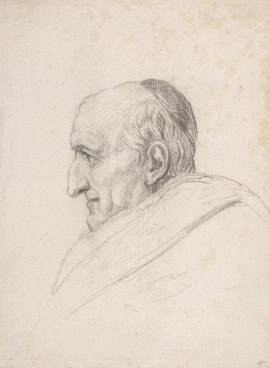 Jacques-Louis David. Cardinal Pukka
