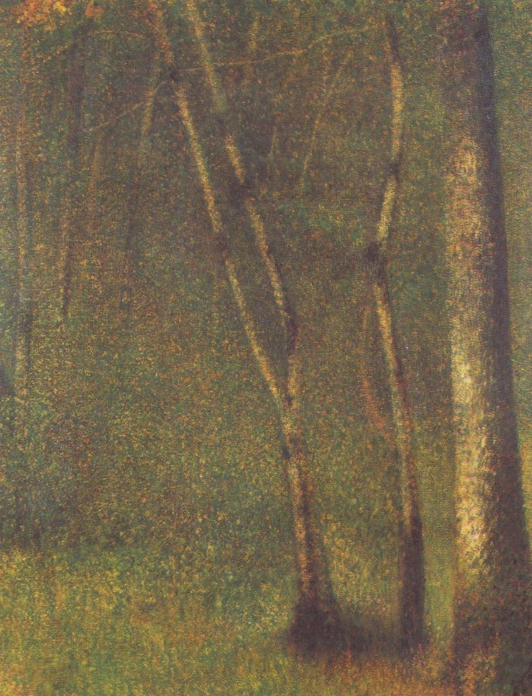 Georges Seurat. Forest Pentamere