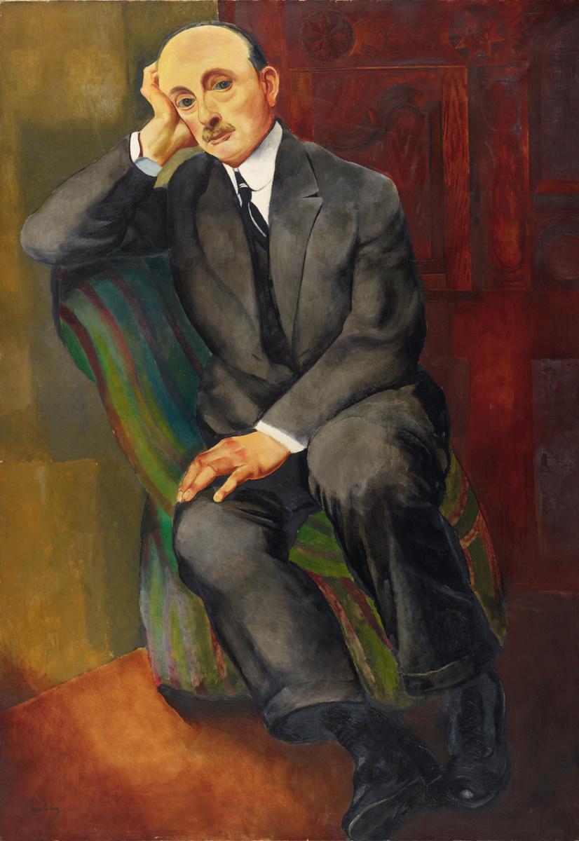 Моисей Кислинг. Мужской портрет (Йонас Неттер)