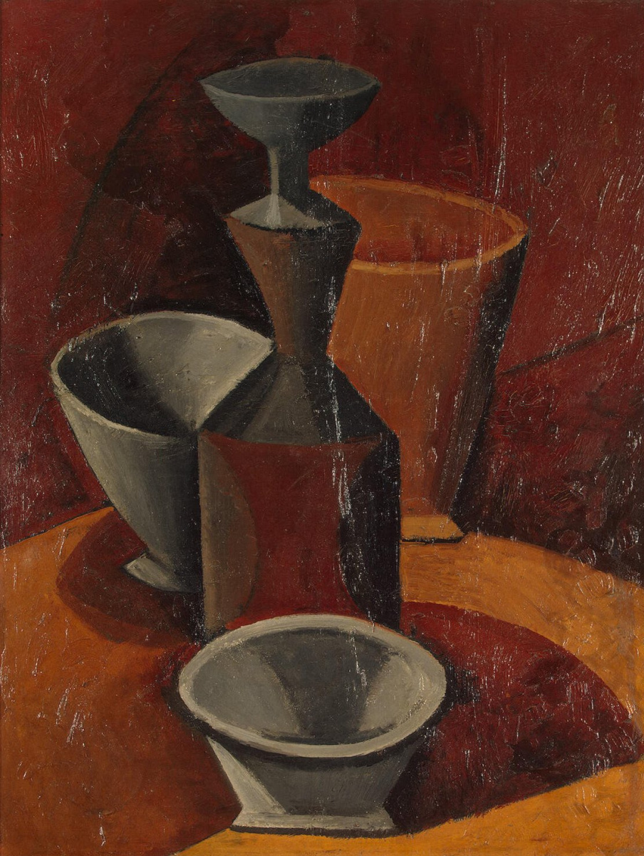 Пабло Пикассо. Бидон и миски