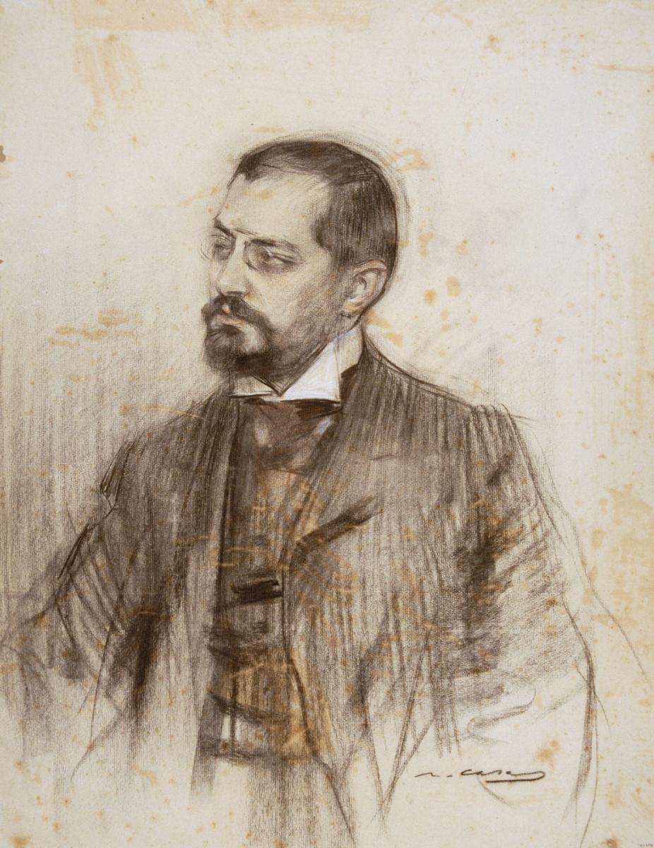 Рамон Касас Карбо. Портрет Хосепа Пуига Кадафала