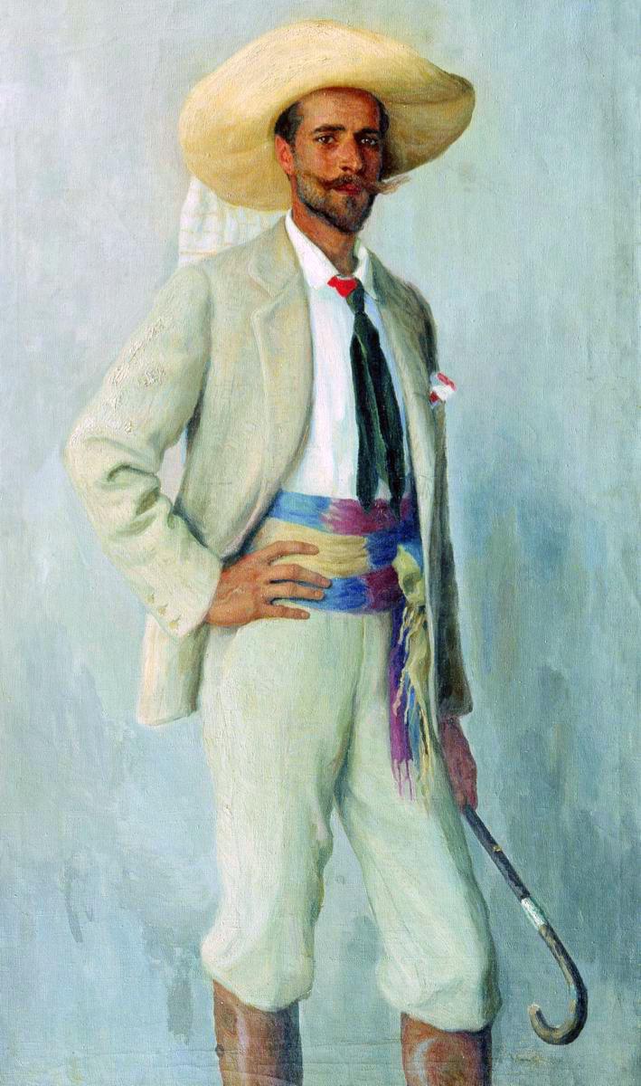 Николай Петрович Богданов-Бельский. Портрет  князя А. К. Горчакова