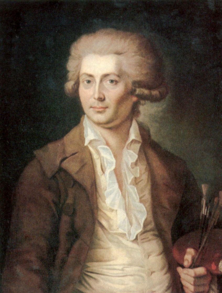 Семен Федорович Щедрин. Автопортрет