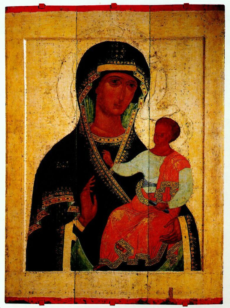 "Dionusia. The Icon Of The Mother Of God ""Hodegetria"""
