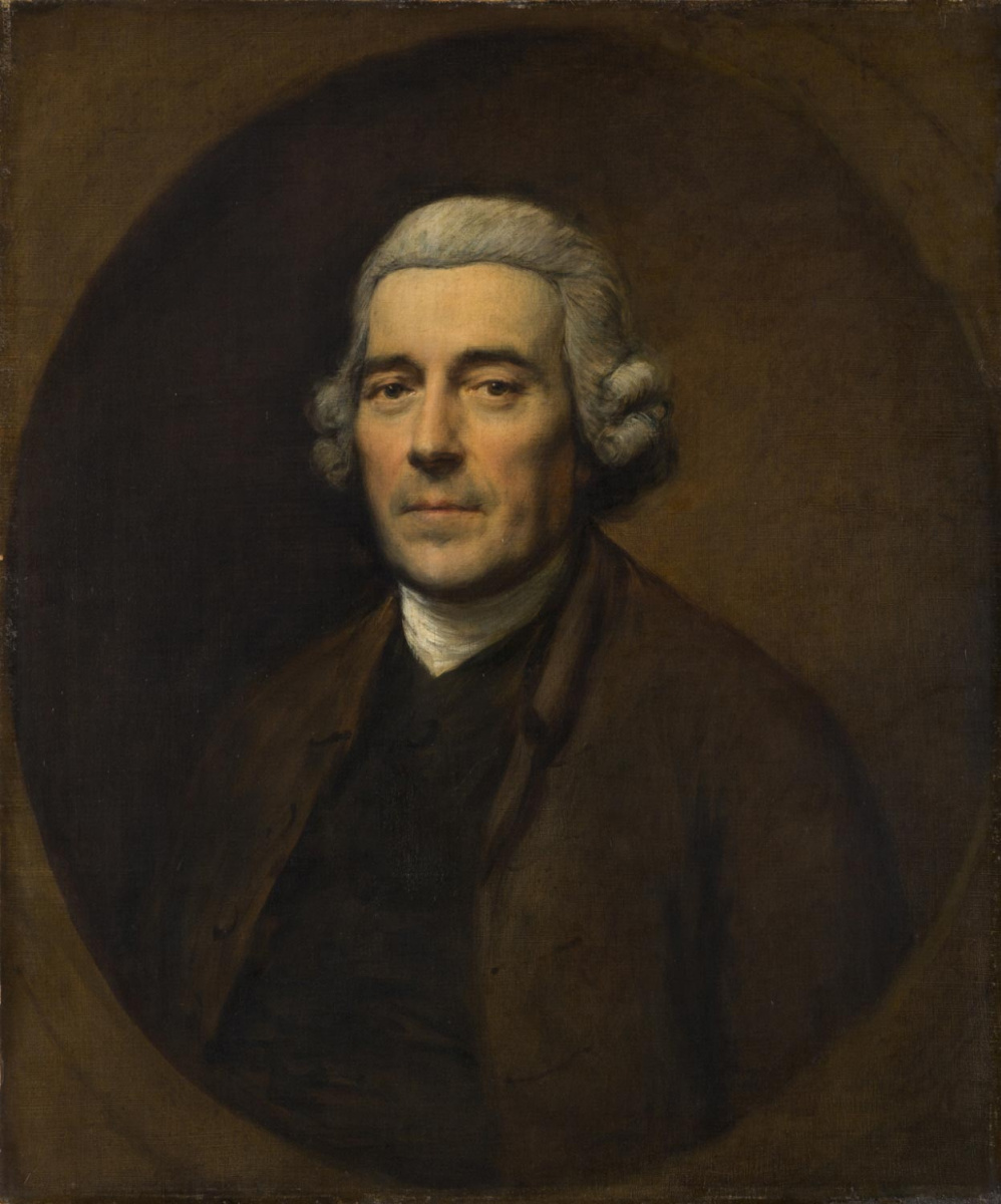 Thomas Gainsborough. Portrait Of George Coit