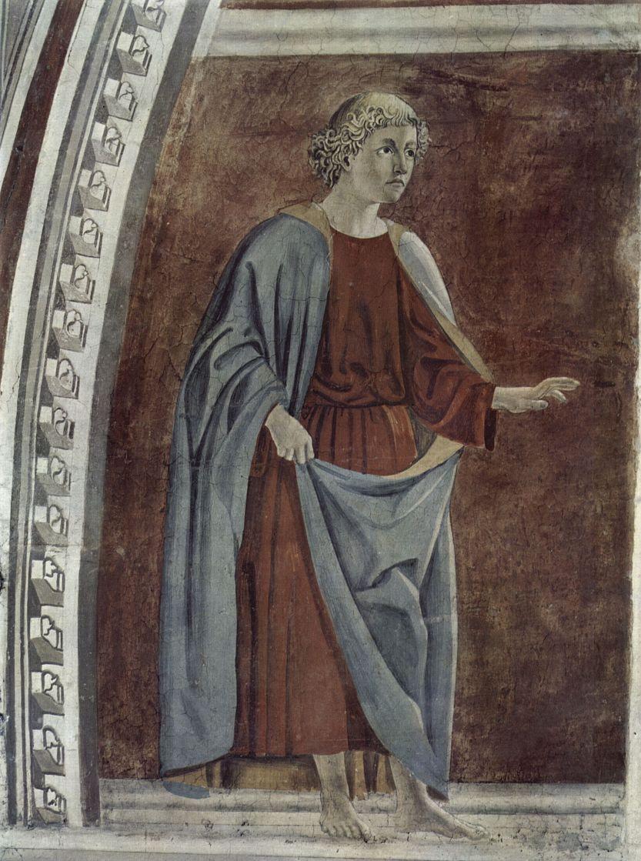 Пьеро делла Франческа. Пророк. Фрески церкви Сан Франческо в Ареццо