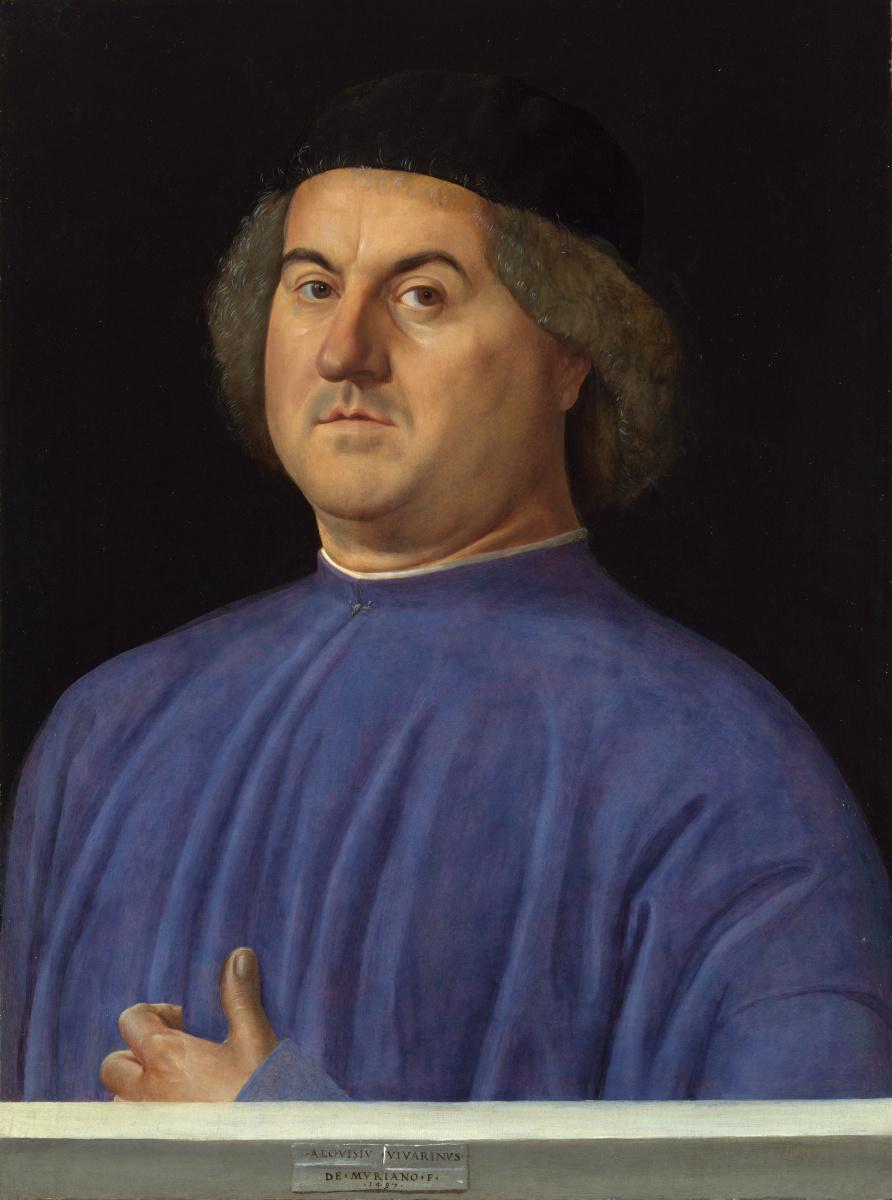 Алвис Виварини. Портрет мужчины
