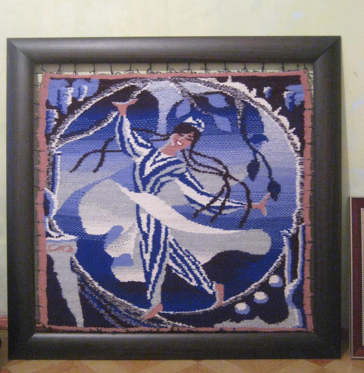 Olga Suncheleeva. Dancer (tapestry)
