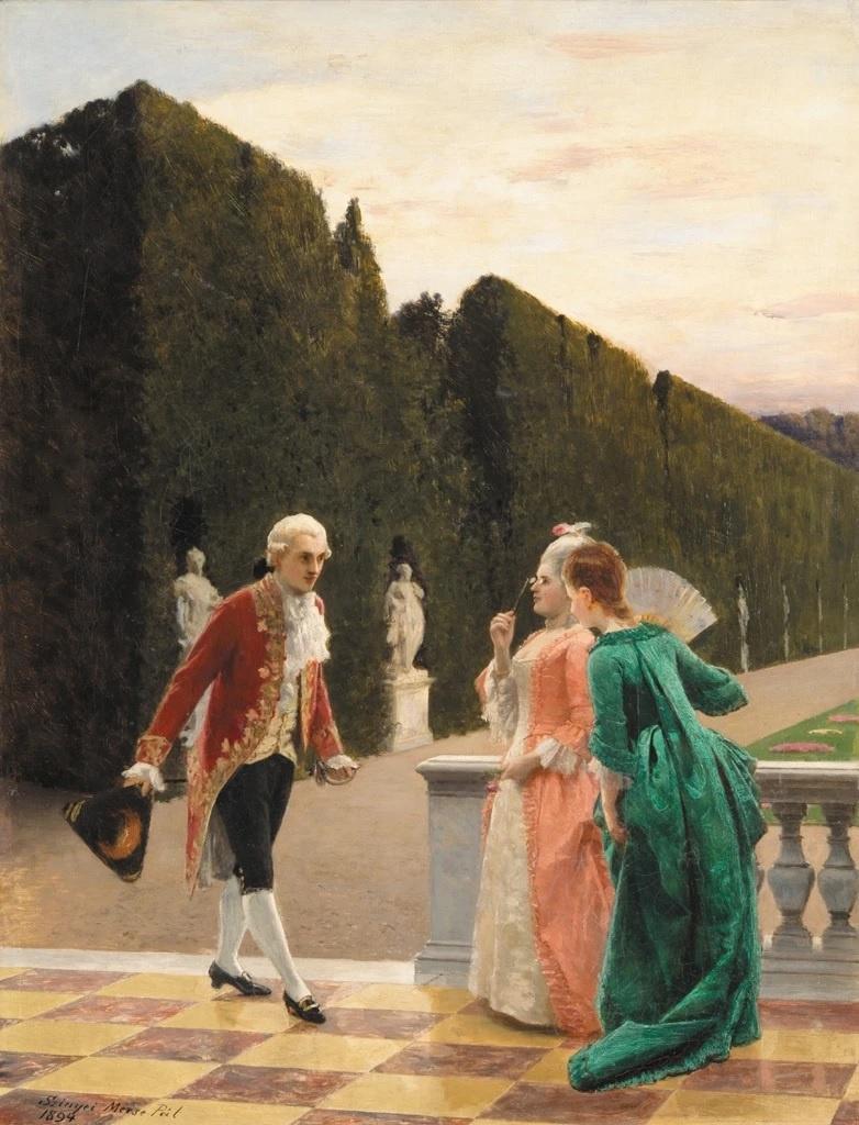 Pál Szinyei Merse. Rococo
