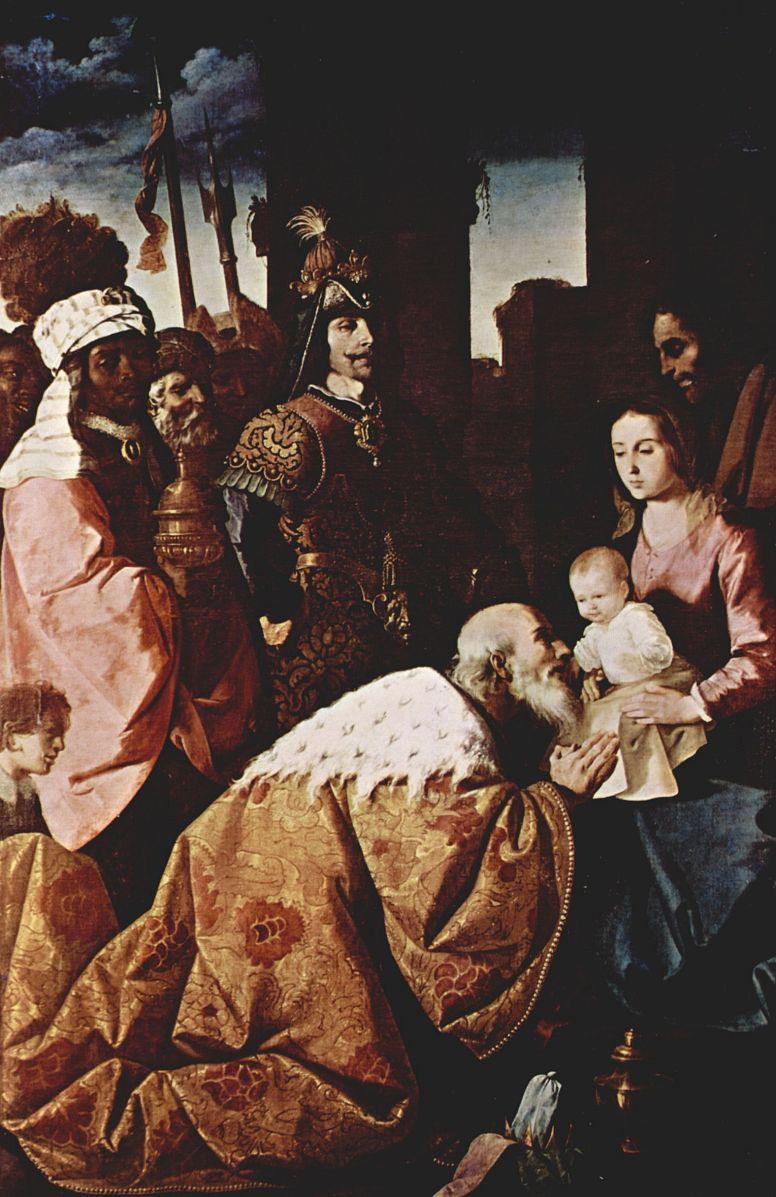 Франсиско де Сурбаран. Поклонение волхвов