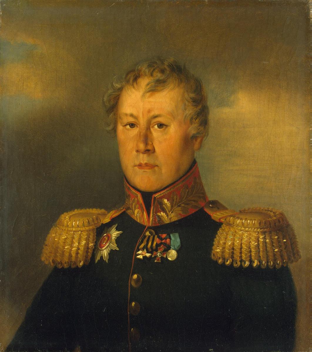 George Dow. Portrait Of Fyodor V. Zvarykin