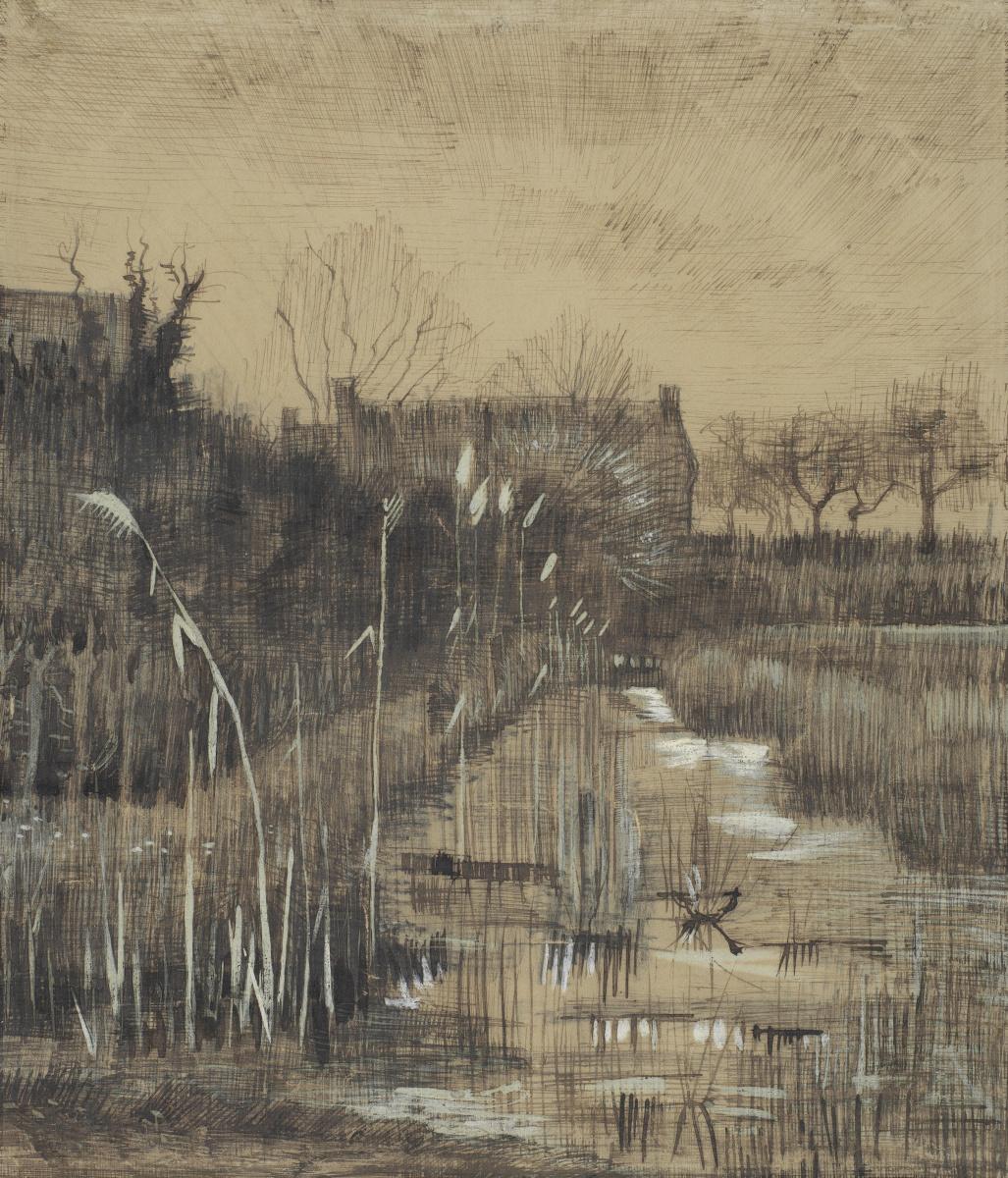 Vincent van Gogh. Ditch