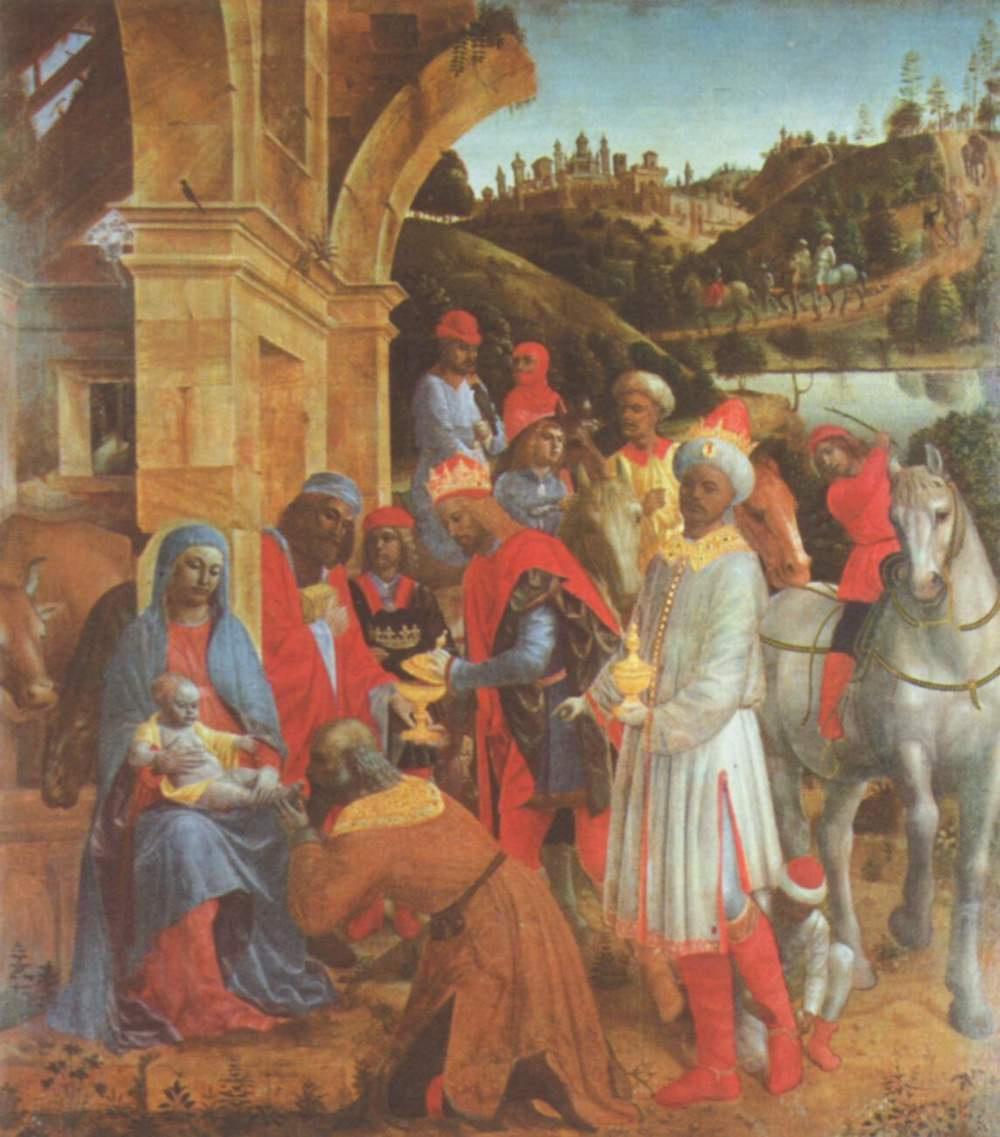 Vincenzo Foppa. The adoration of the Magi