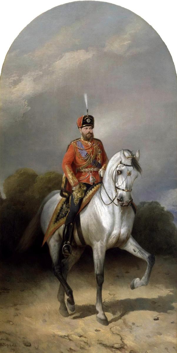 Николай Егорович Сверчков. Александр III