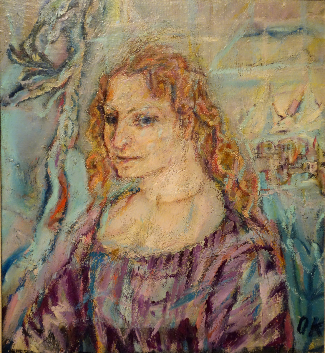 Oskar Kokoschka. Alma Mahler