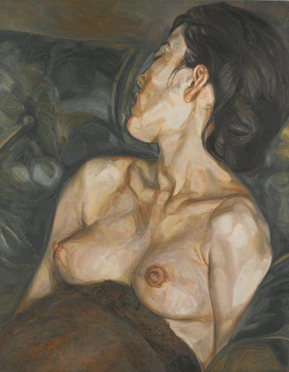 Люсьен Фрейд. Беременная девушка