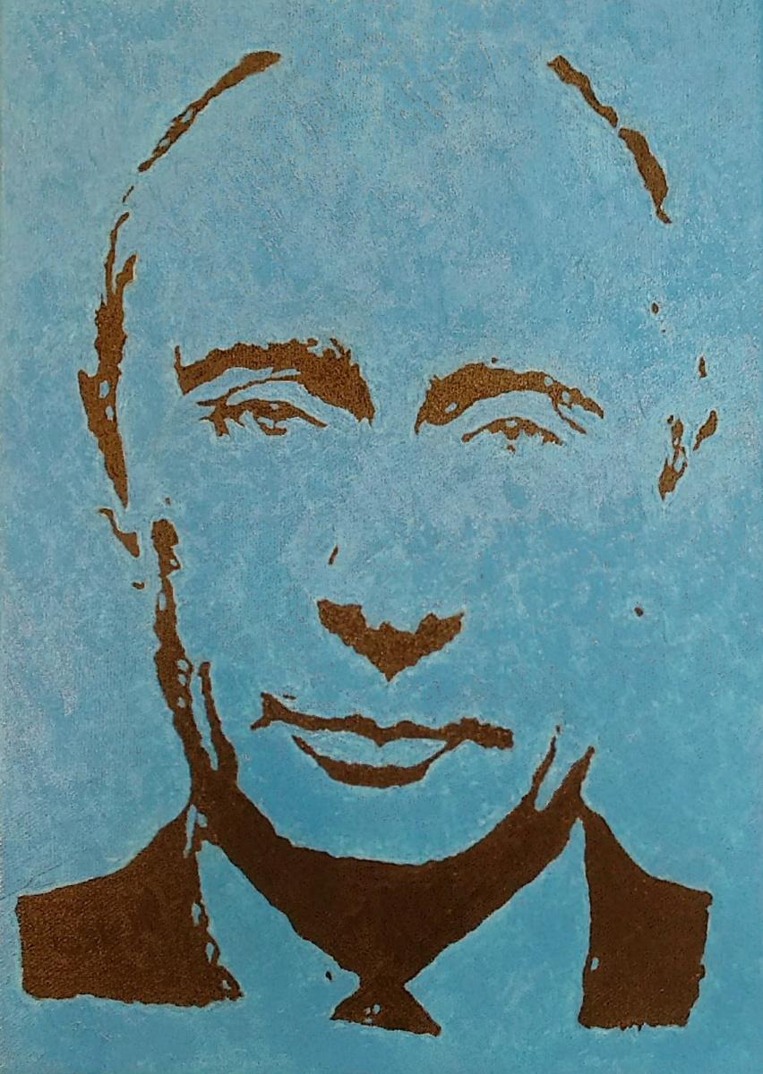 Alexander Tsypin. Vladimir Putin
