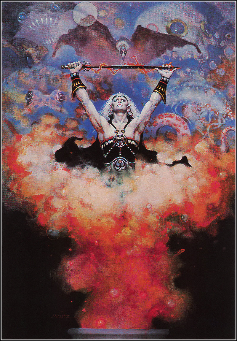 Don Maitz. Master warrior