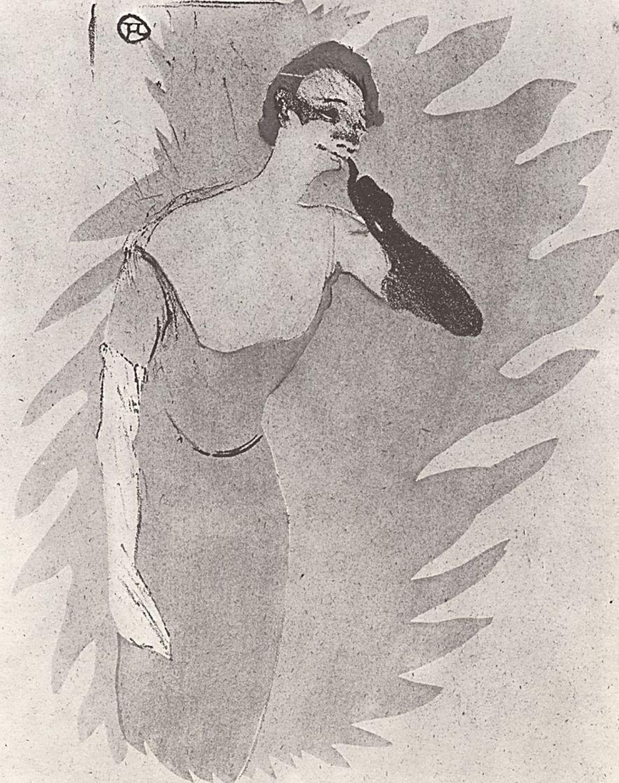 Анри де Тулуз-Лотрек. Иветт Гильбер