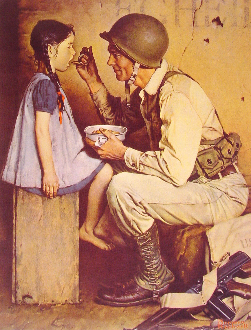 Norman Rockwell. The American way