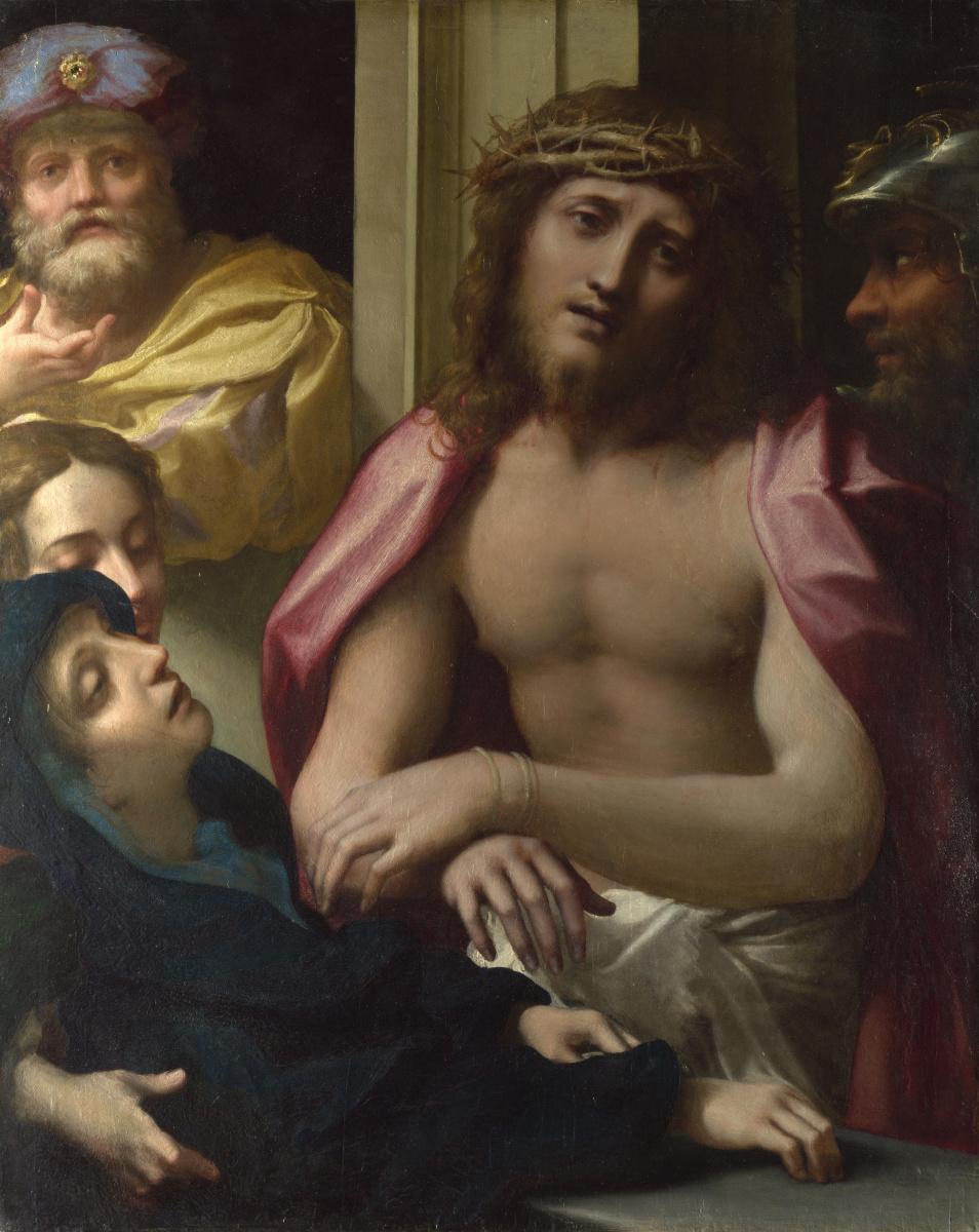 Антонио Корреджо. Христос представлен народу