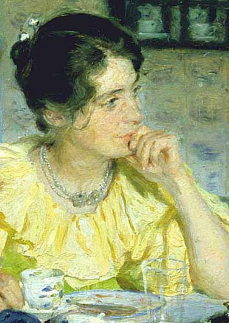 Peder Severin Krøyer. Maria Kroyer