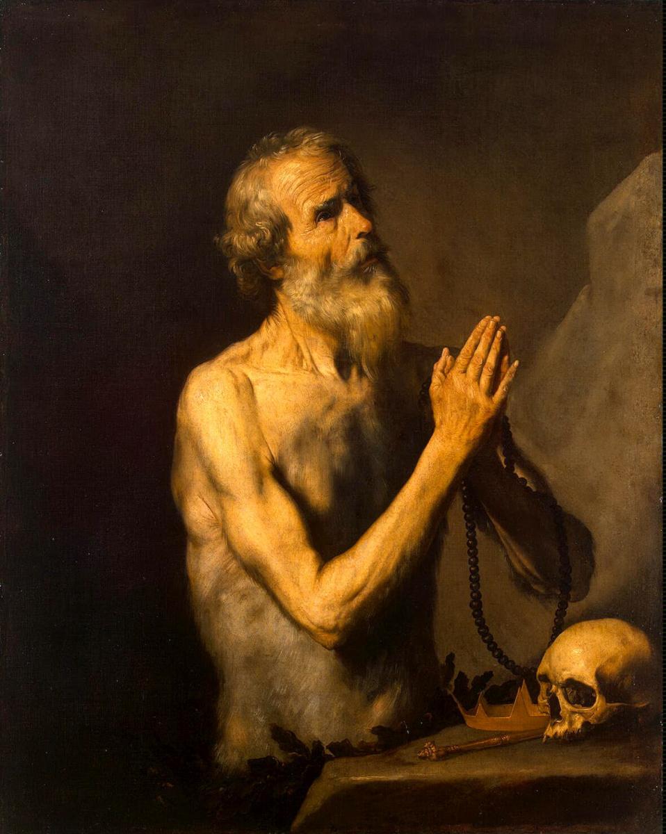Хосе де Рибера. Святой Онуфрий